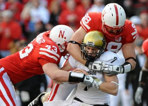 Colorado Buffaloes vs Nebraska Cornhuskers football game