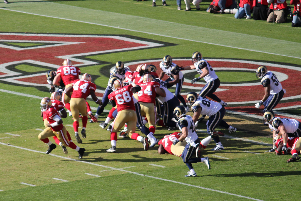 San Francisco 49ers vs LA Rams