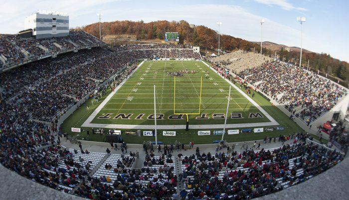 Army Black Knights football game at Michie Stadium