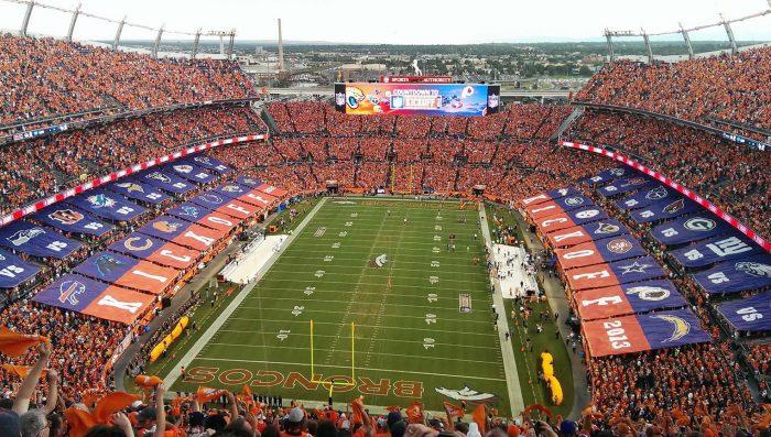 Denver Broncos game at Empower Field at Mile High