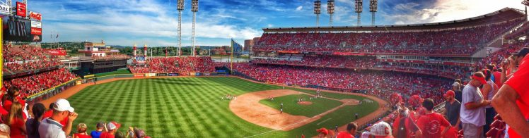 Great American Ball Park panoramic view