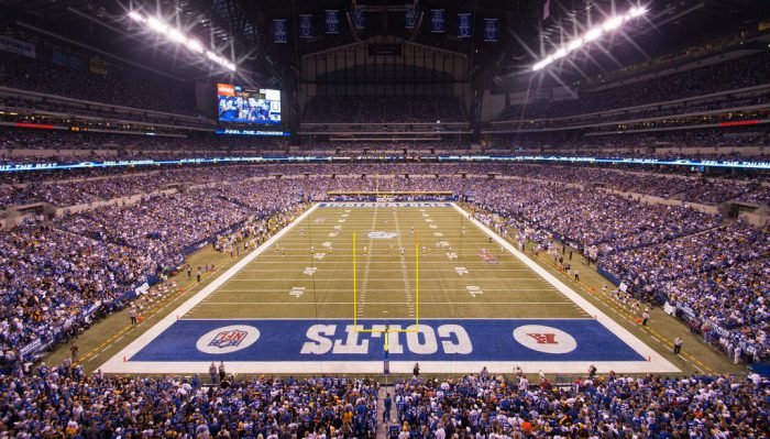 Indianapolis Colts game at Lucas Oil Stadium