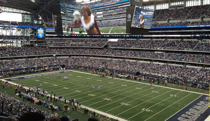 Dallas Cowboys football at AT&T Stadium
