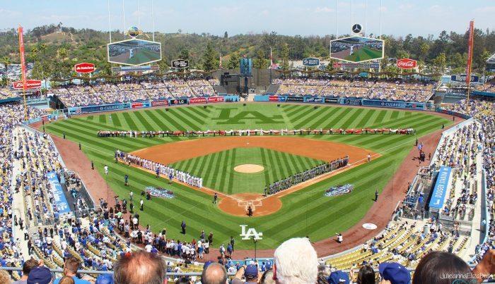 LA Dodgers Home opener