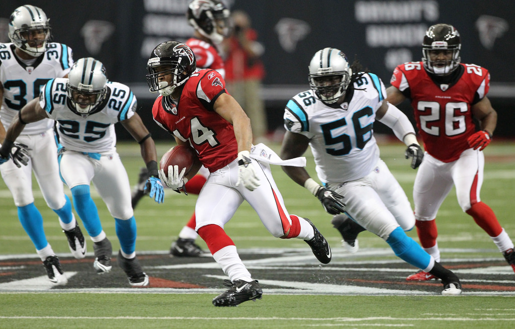 Atlanta Falcons vs Carolina Panthers football game