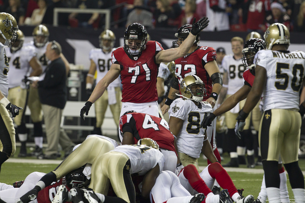 Atlanta Falcons vs New Orleans Saints football game