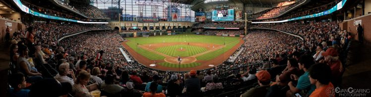 Minute Maid Park Houston Astros game against the Detroit Tigers