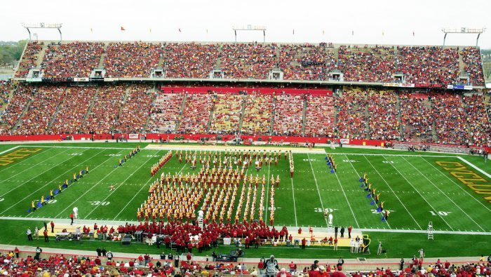 Halftime Iowa State Cyclones Marching Band