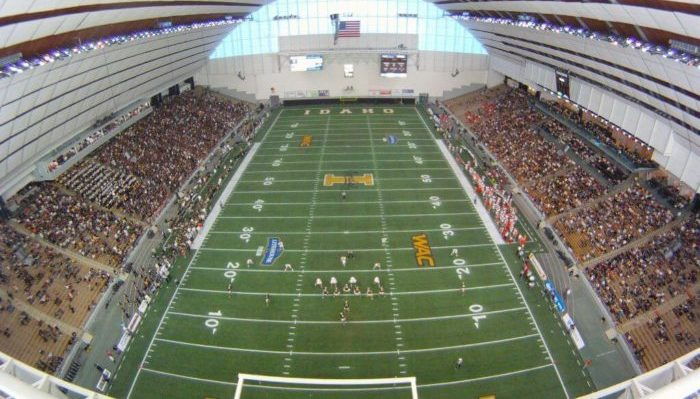 Kibbie Dome Home of the Idaho Vandals