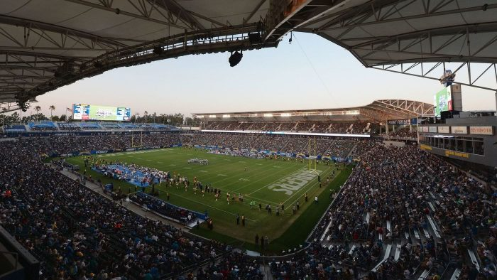 home of the Los Angeles Chargers StubHub Center