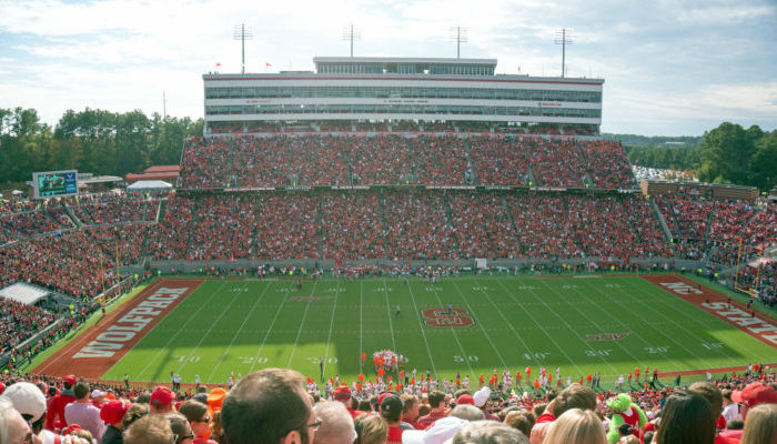 North Carolina State University football game