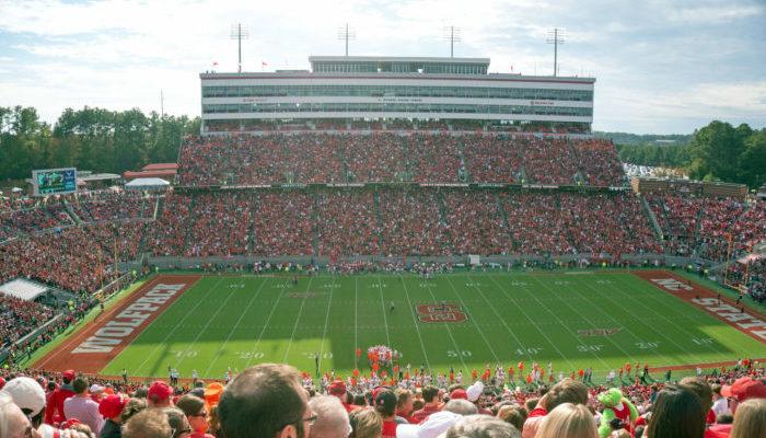 North Carolina State University football game