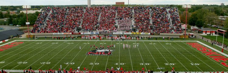 NIU Huskies football stadium