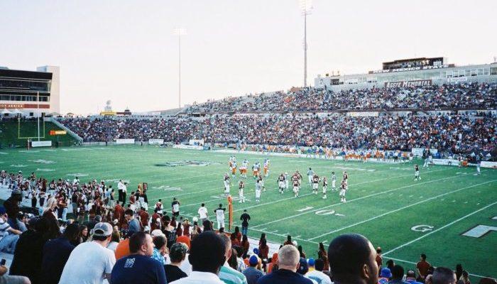 NMSU Aggies football game