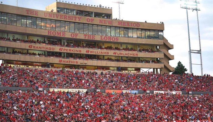 New Mexico Lobos Dreamstyle Stadium