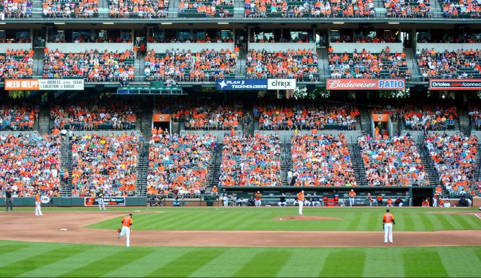 Baltimore Orioles vs Oakland Athletics baseball game