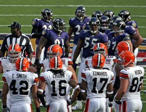 Baltimore Ravens vs Cleveland Browns
