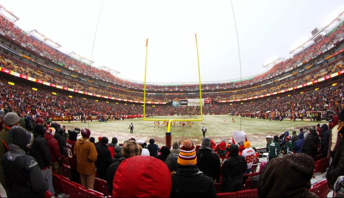 Home of the Washington Redskins at FedEx Field