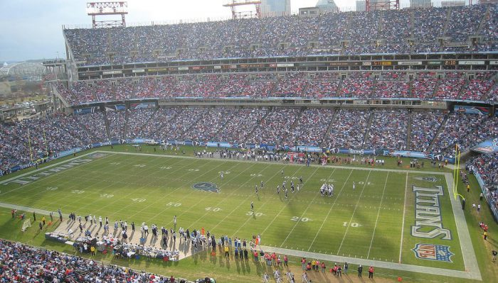 Tennessee Titans game at Nissan Stadium