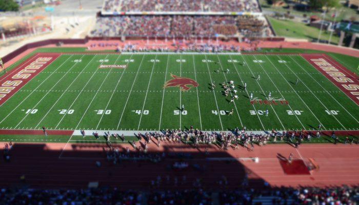 Texas State Bobcats Homecoming game