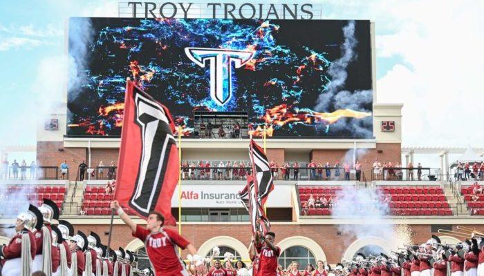 Troy Trojans Veterans Memorial Stadium