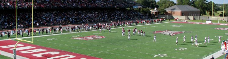 Home of the Troy Trojans Veterans Memorial Stadium