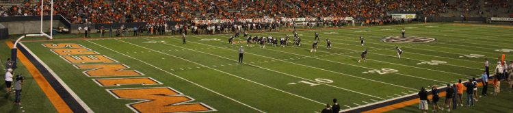 UTEP Miners football game at Sun Bowl Stadium