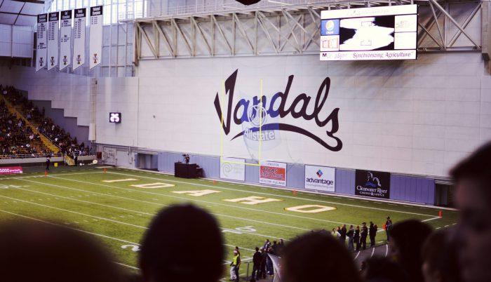 Idaho Vandals football field Kibbie Dome