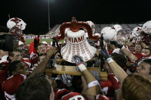 Cincinnati Bearcats victory bell