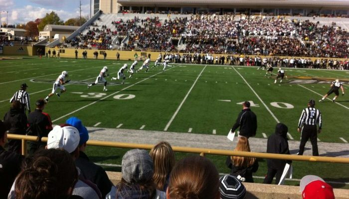 Western Michigan Broncos football game