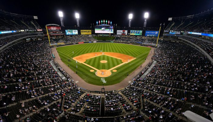 Guaranteed Rate Field night time
