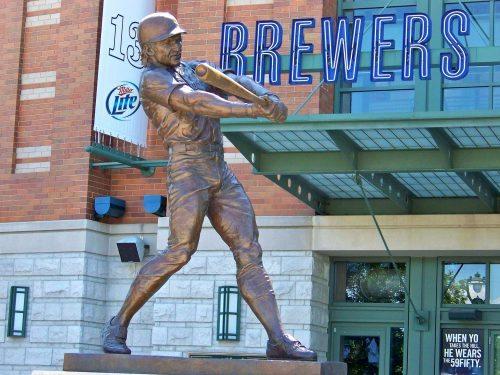 Statue Miller Park Brewers