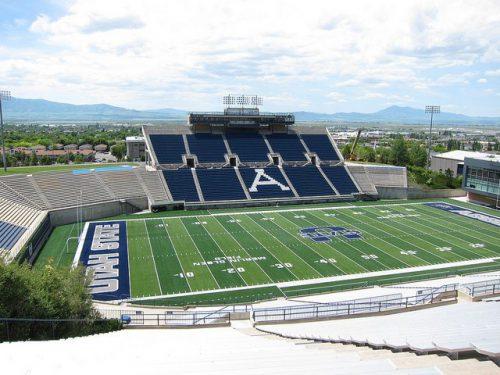 Utah State Aggies Maverik Stadium