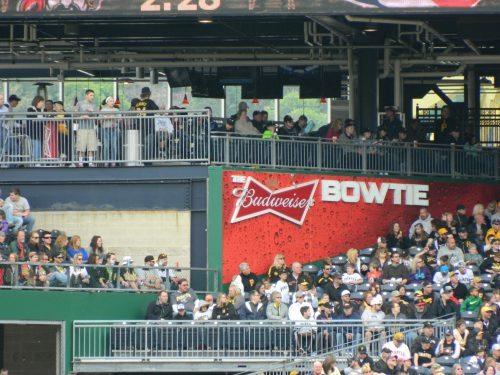 Budweiser Bowtie Bar PNC Park
