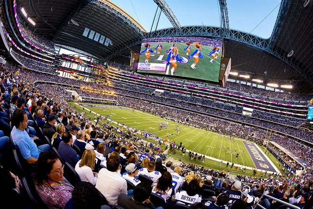 Dallas Cowboys Ring of Honor in AT&T Stadium