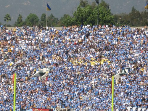 UCLA Fans at the football game