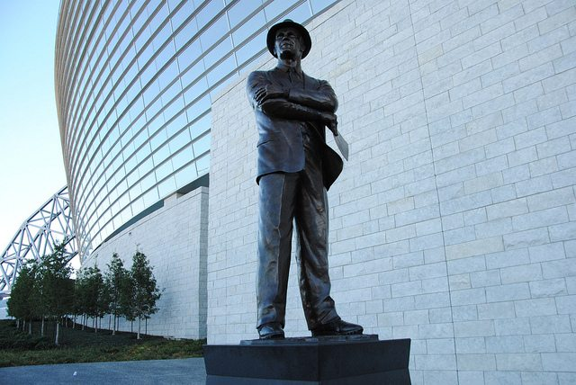 Tom Landry Statue at AT&T Stadium