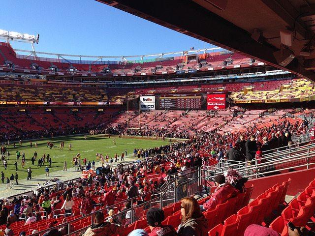 Home of the Washington Redskins FedEx Field