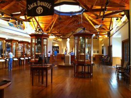 Jack Daniels whiskey distillery