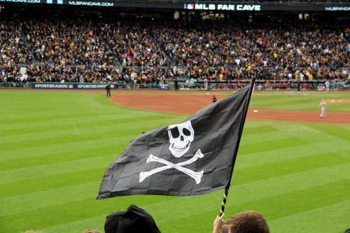 Jolly Roger Flag Pittsburgh Pirates