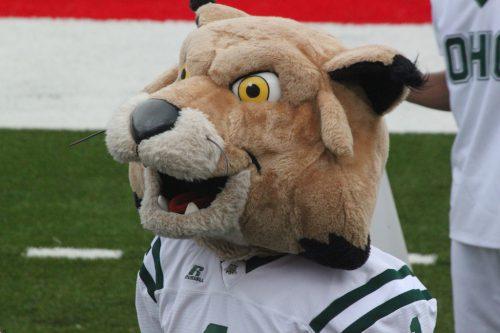 Rufus the Bobcat Ohio Bobcats