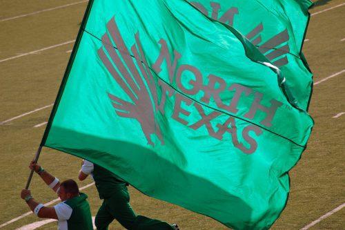 North Texas Mean Green Flag