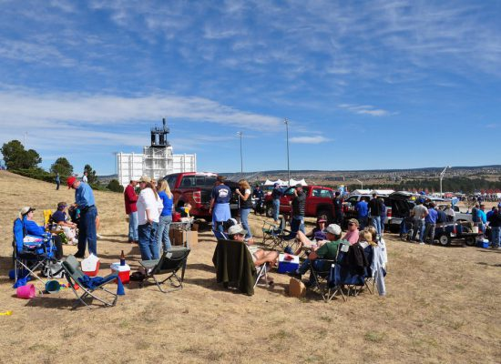 Air Force Falcons tailgating