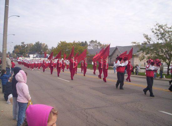 Ball State Cardinals parade