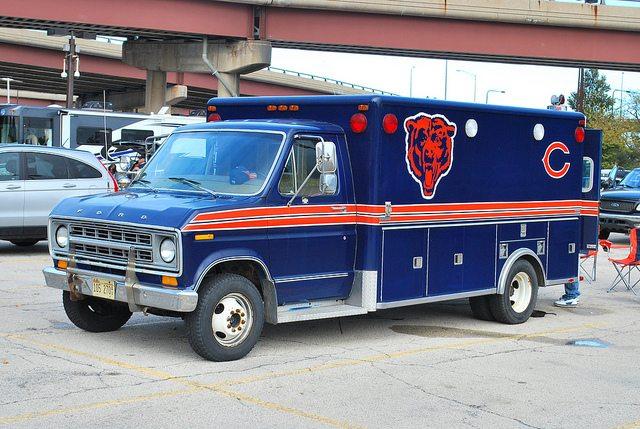 Chicago Bears Ambulance