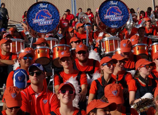 Boise State Broncos band