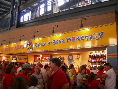 Fredbird Build a Bear workshop