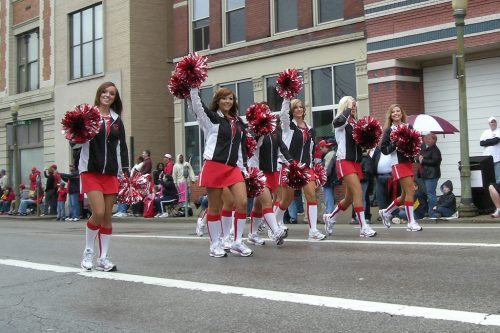 Cincinnati Reds cheerleaders