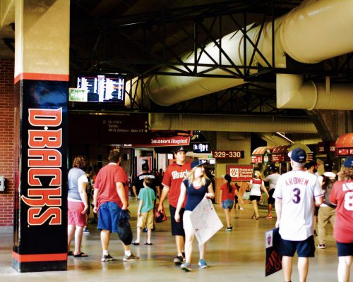 Chase Field concourse