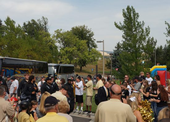 Idaho Vandals football players arrival